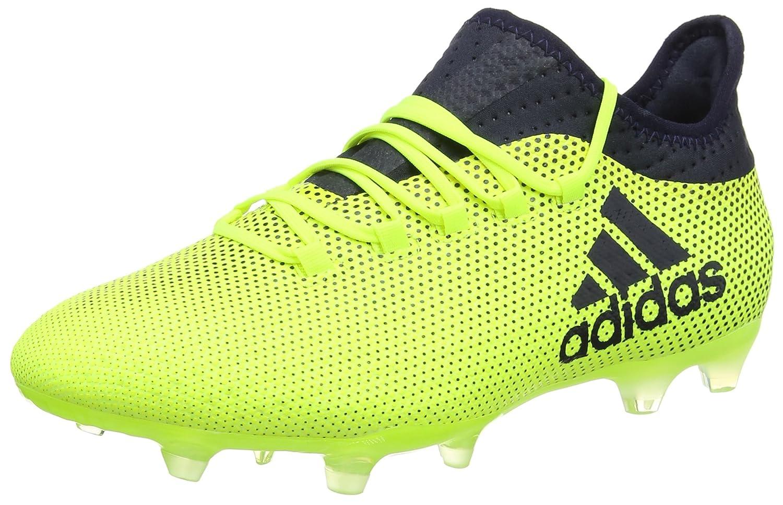 adidas X 17.1 FG, Chaussures de Football Homme, Noir (Negbas/Rojsol/Narsol), 40 EU