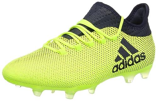 sports shoes bc45f 85890 adidas X 17.2 Fg, Scarpe da Calcio Uomo, Giallo (Solar Yellow Legend Ink