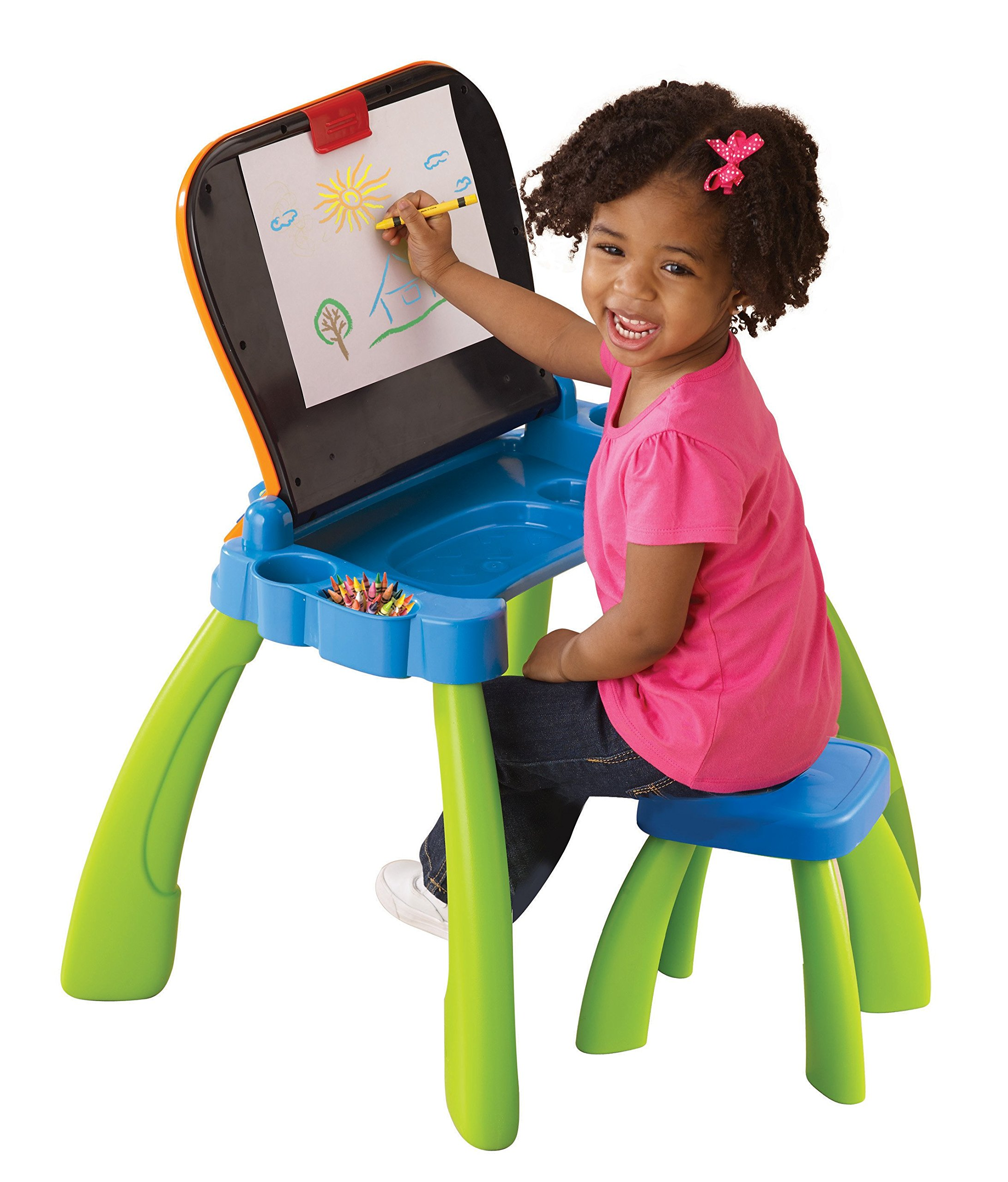 VTech Touch and Learn Activity Desk (Frustration Free Packaging), Green by VTech (Image #4)