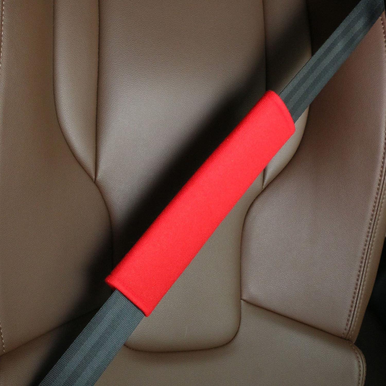 Suitable for Car Seat Belt Black Seat Belt Shoulder Strap Covers Harness Pads Backpack 2-Pack Soft Car Safety Seat Belt Strap Shoulder Pad for Adults and Children Shoulder Bag
