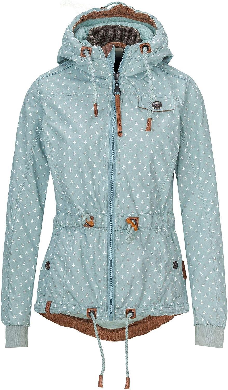 NAKETANO Pfiffig, Gewitzt & Fesch Jacket for Women Blue