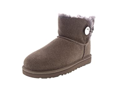f87e153c99d UGG Mini Bailey Button Bling Serein stormy grey Gr. 41