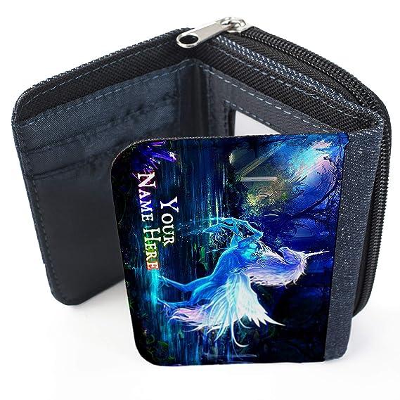 Bolso de tela vaquera personalizable con diseño de unicornio ...