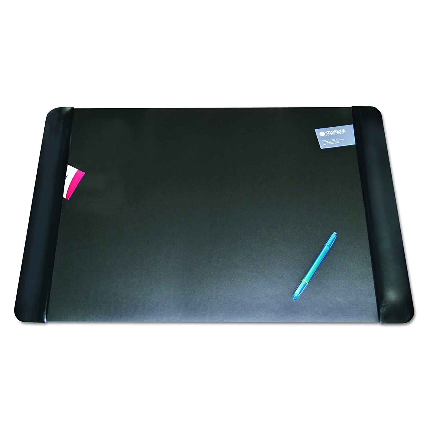 Artistic 20-Inch X 36-Inch Antimicrobial Executive Desk Pad with Microban, Black 817566 DOBA-AOP413861
