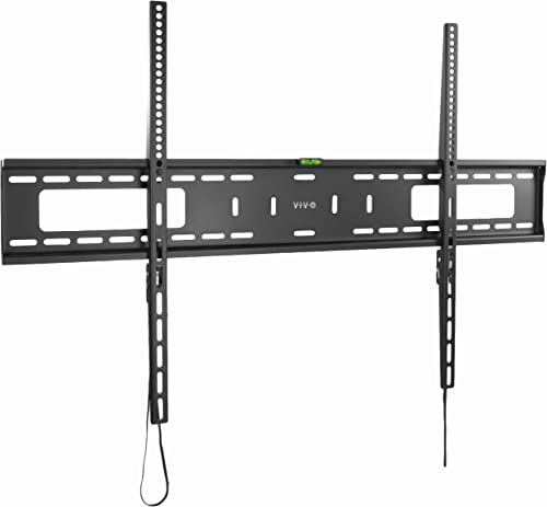 VIVO Black Extra Large Heavy Duty 60 to 100 inch LCD LED Curved and Flat Panel Screen, TV Wall Mount Bracket with Max 900x600mm VESA MOUNT-VW100F