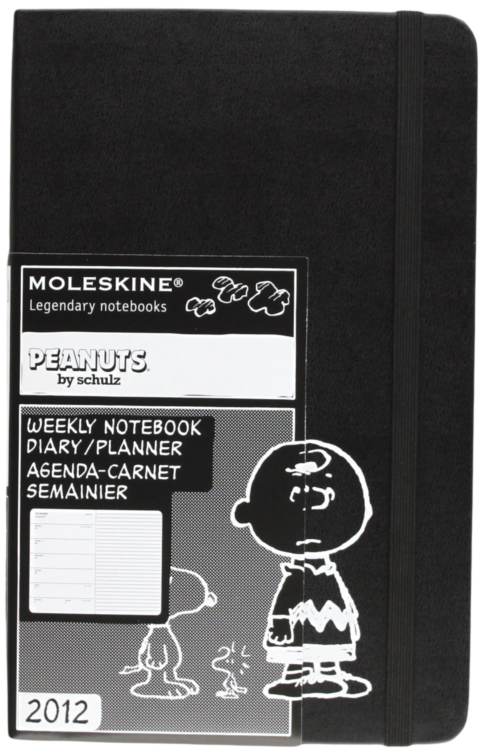 2012 Moleskine Peanuts Large Weekly Diary Moleskine Diaries