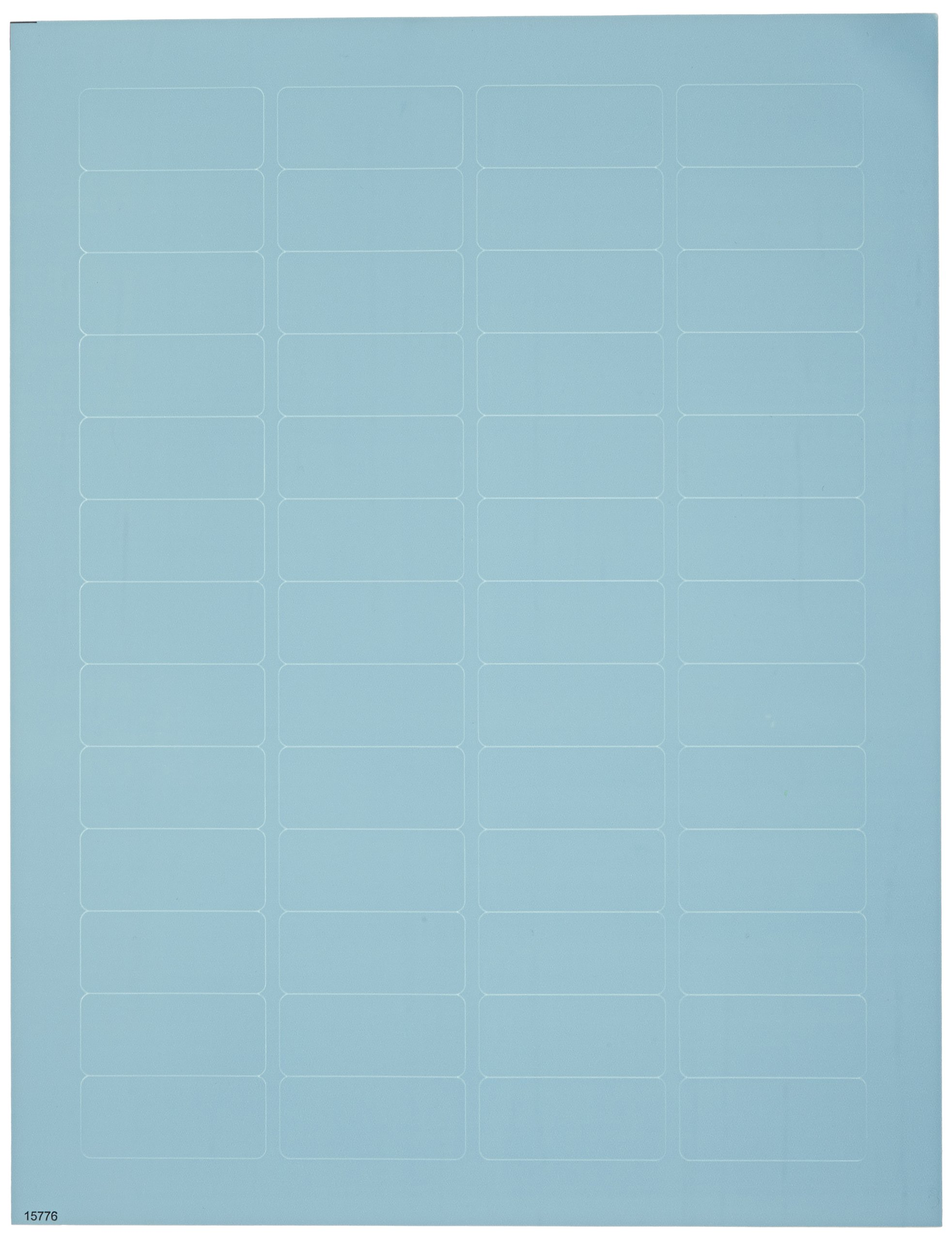 Diversified Biotech LCRY-1100-B Polyolefin Cryo-Babies Laser Label, Use with Cryovials, 0.75'' Width x 1.69'' Length, Blue (Pack of 1040)