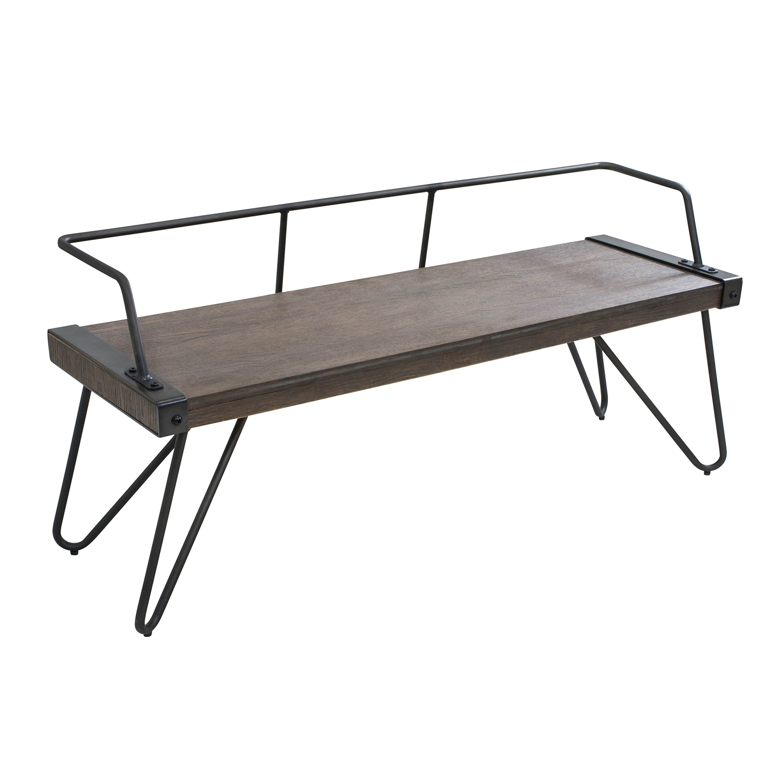 WOYBR DC-STFBEN WL+AN Wood, Metal Stefani Bench