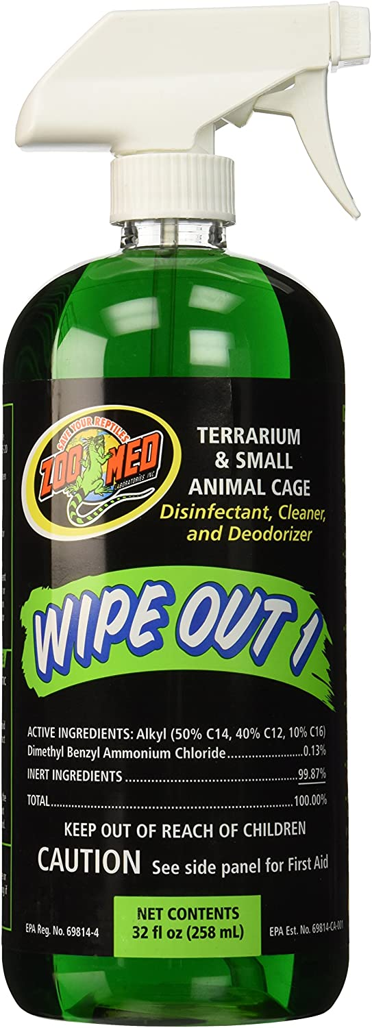 Zoo Med Wipe Out 1 Disinfectant