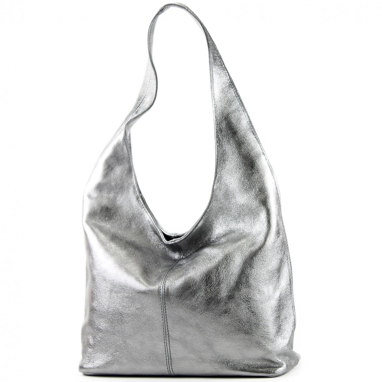 Borsa a mano borsa a tracolla shopping bag donna in vera pelle italiana T02
