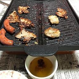 Amazon Co Jp イシガキ産業 おいしさ特選便 ヘルシー焼肉グリル 角型 3562 ホーム キッチン