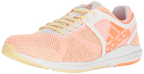 sneakers for cheap 44232 d13d6 Adidas Womens Shoes  Crazytrain CF Cross-Trainer, WhiteGlow OrangeLemon