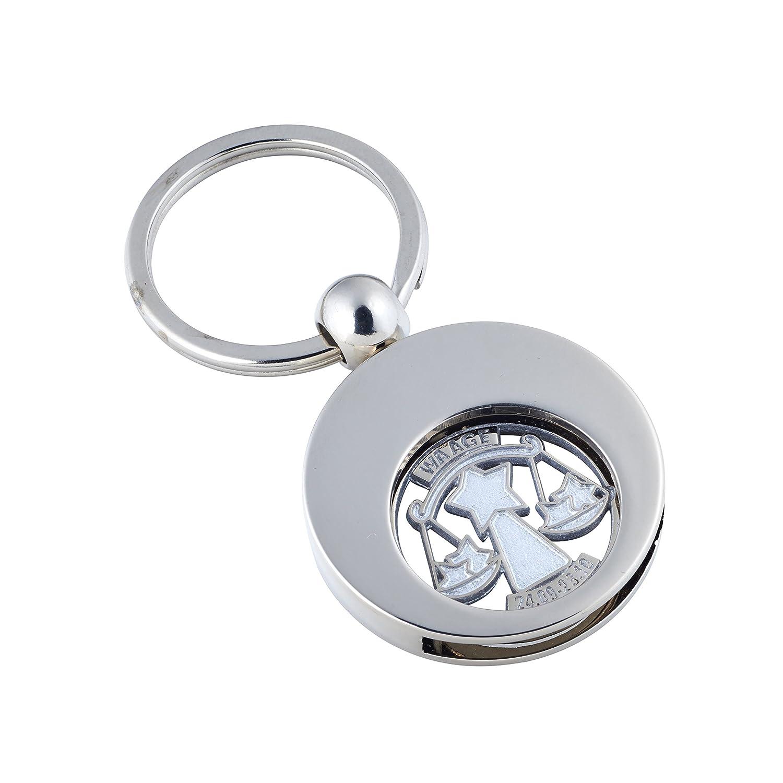 Astro Schlüsselanhänger mit Einkaufswagenchip SternzeichenKREBS
