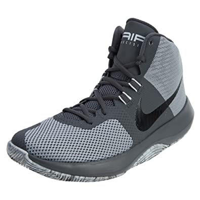 purchase cheap d7d91 884a8 Nike Air Precision Wolf GreyBlackDark GreyCool Grey Mens Basketball  Shoes Amazon.in Shoes  Handbags