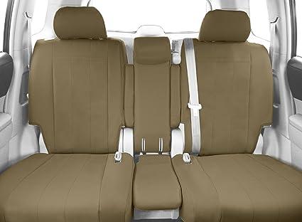 Wondrous Caltrend Front Row 40 20 40 Split Bench Custom Fit Seat Cover For Select Chevrolet Silverado Gmc Sierra Models Duraplus Beige Short Links Chair Design For Home Short Linksinfo