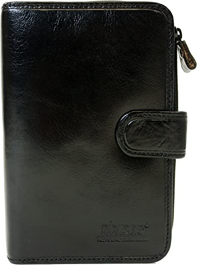 Tinder USA Genuine Cowhide Leather Medium Women/'s Wallet With Coin Slots
