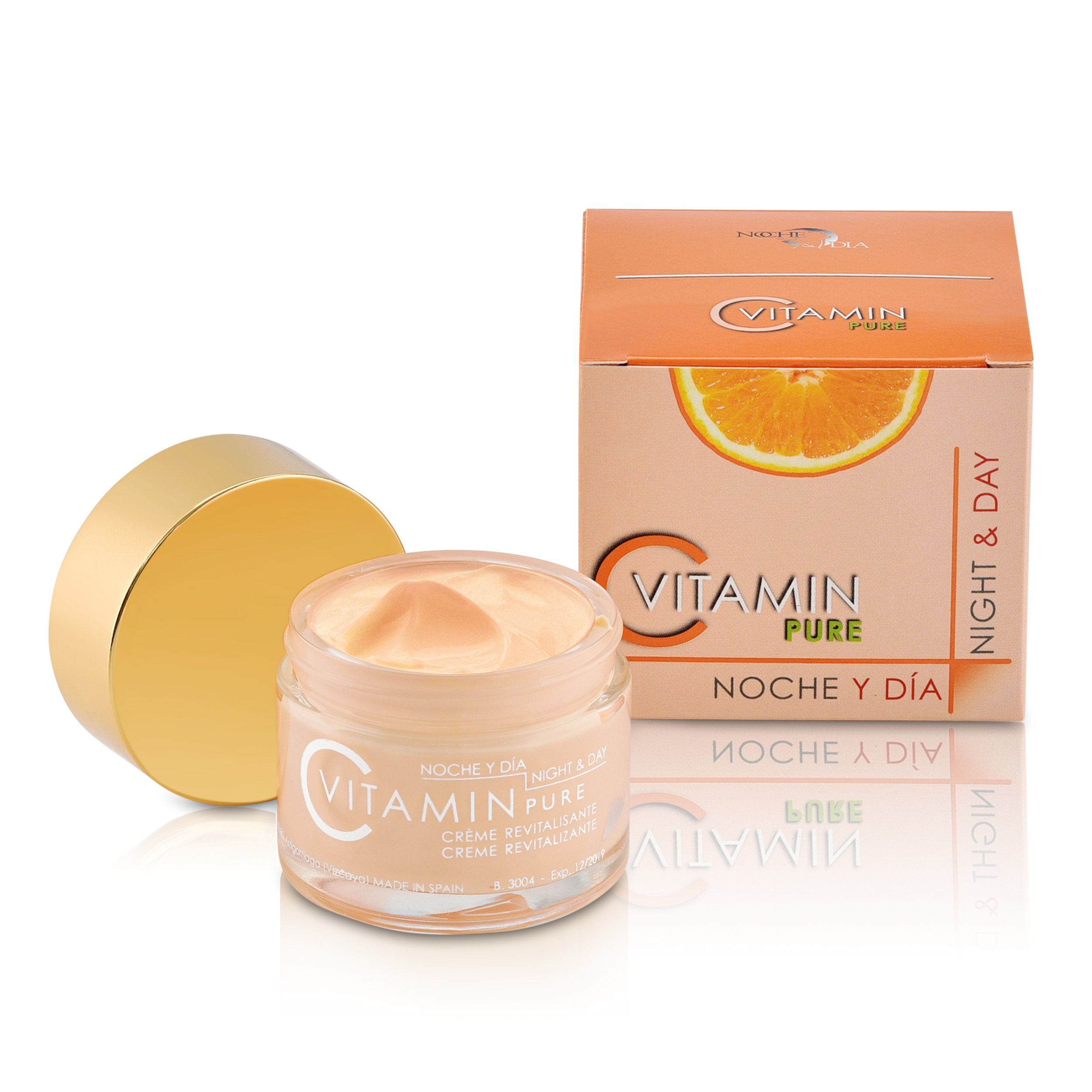 Noche y Dia Vitamina C Revitalizador Cream SPF 10 2.04 ounces