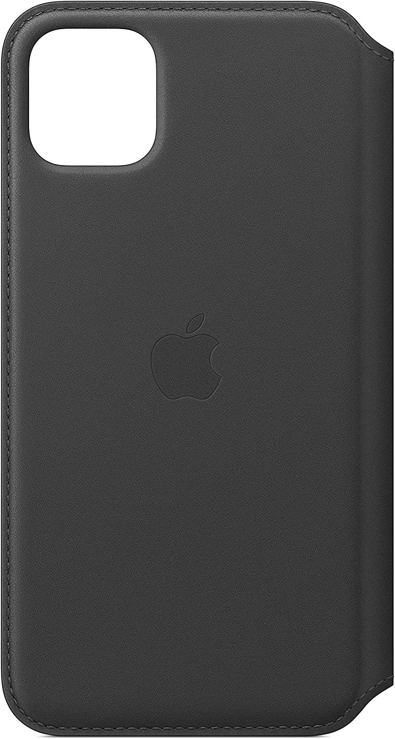 Apple Leather Folio (for iPhone 11 Pro Max) - Black