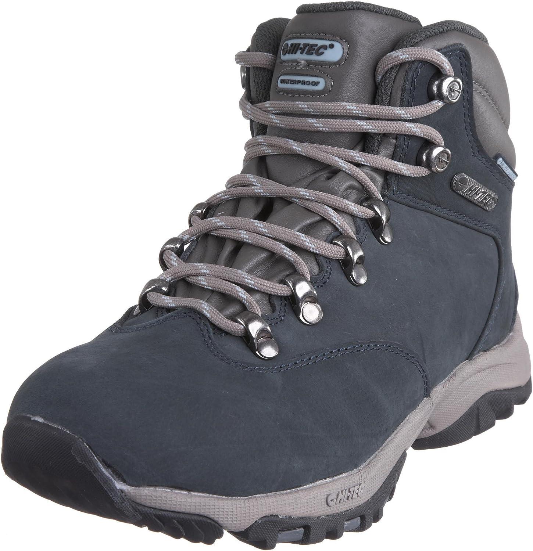 Hi-Tec Altitude Glide WP - Zapatillas de Senderismo de Cuero Nobuck para Mujer