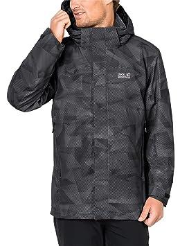 De Montaña Hombre All Deportes Impermeable es Y Para Chaqueta Edge Amazon Black Wolfskin Jack Over Aire Color Hombre Libre Jacket Tamaño Large Extra x7XxzIfqw