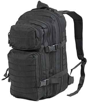 Nitehawk Military Army Patrol MOLLE Assault Pack Rucksack Backpack Tactical  Combat Bag 30L Black f842b51faaed2