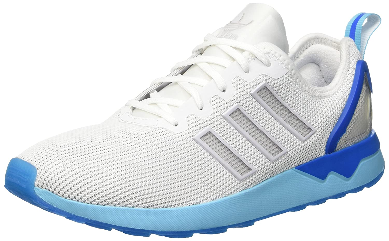 Blanc (Ftwrr blanc Ftwrr blanc bleu Glow) Adidas originals  Zx Flux ADV Baskets Mixte Adulte 40 EU