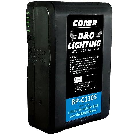 D & O Lighting Batería de Iones de Litio con Cable D-Tap ...