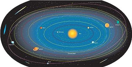 carte du système solaire laveur pour carte de système solaire : 30 feuilles: Amazon.fr
