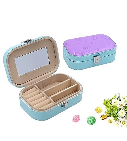 Amazoncom Wuligirl Convenient Small Jewelry Organizer Box Portable