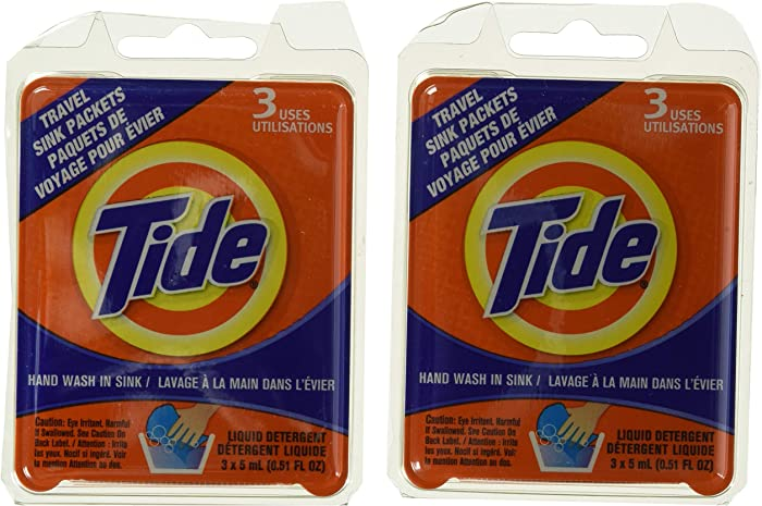 Tide Travel Sink Packets (2)