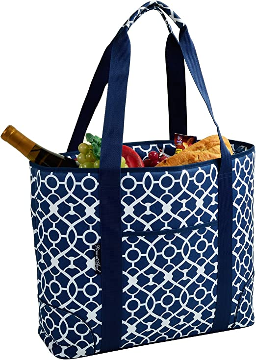 Amazon Com Picnic At Ascot Extra Large Insulated Cooler Bag 30 Can Tote Designed Quality Approved In Usa Kitchen Dining