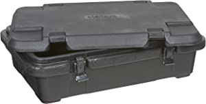 Carlisle PC140N03 Cateraide Top Loading Insulated Food Pan Carrier, 4 Inch Deep, Black