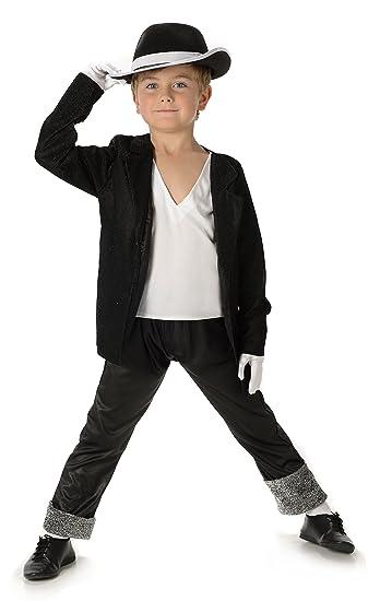 80s Michael Jackson + Hat Boys Fancy Dress Billie Jean Childs Celebrity Costume (XL 11  sc 1 st  Amazon UK & 80s Michael Jackson + Hat Boys Fancy Dress Billie Jean Childs ...