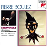 Pierre Boulez Edition - Stravinsky: Rite Of Spring, Petrouchka / New York PO, Cleveland Orchestra