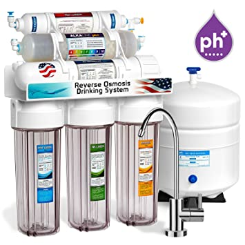 Express Water 10 Stage Alkaline Antioxidant Reverse Osmosis Home Drinking  Water Filtration System (ROALK5MC)
