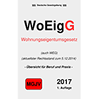 Wohneigentumsgesetz: WEG (German Edition) book cover