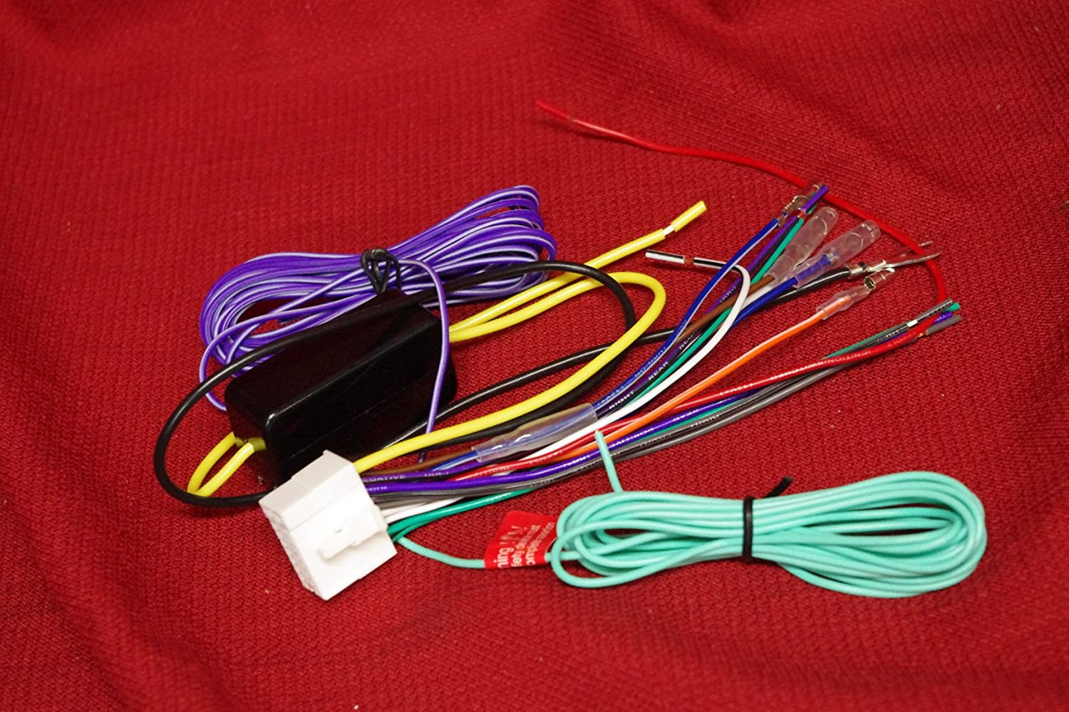 Amazon.com: WIRE HARNESS 18 PIN FOR CLARION MAX685BT VZ709 ... on