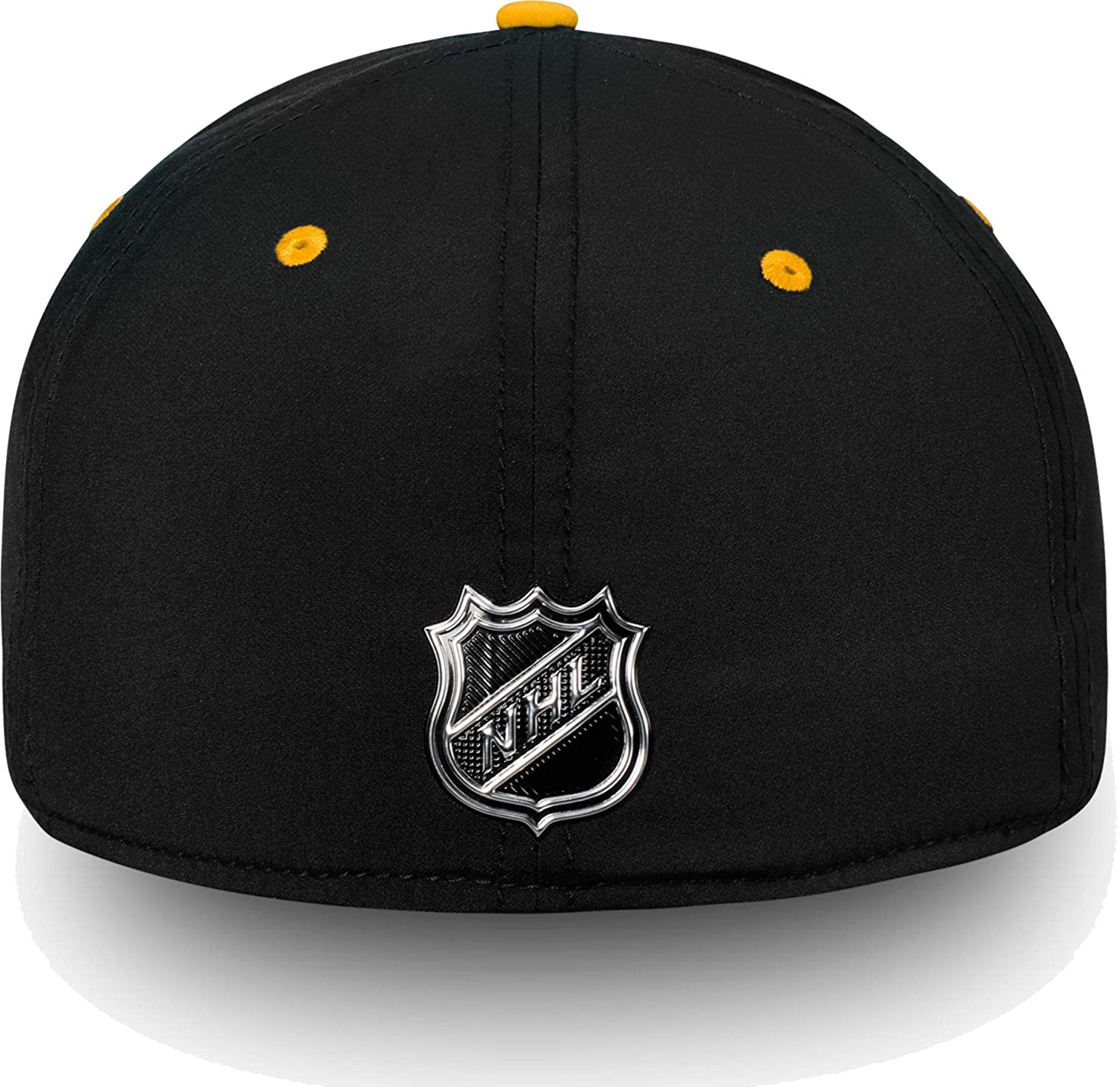more photos 15ac6 6e4f7 Amazon.com   Football Fanatics NHL Men s Pittsburgh Penguins 2018 NHL Draft Structured  Black Flex Hat, (Small Medium)   Sports   Outdoors