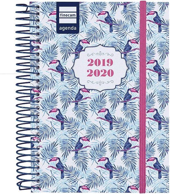 Finocam - Agenda 2019-2020 1 día página español Secundaria Toucan ...