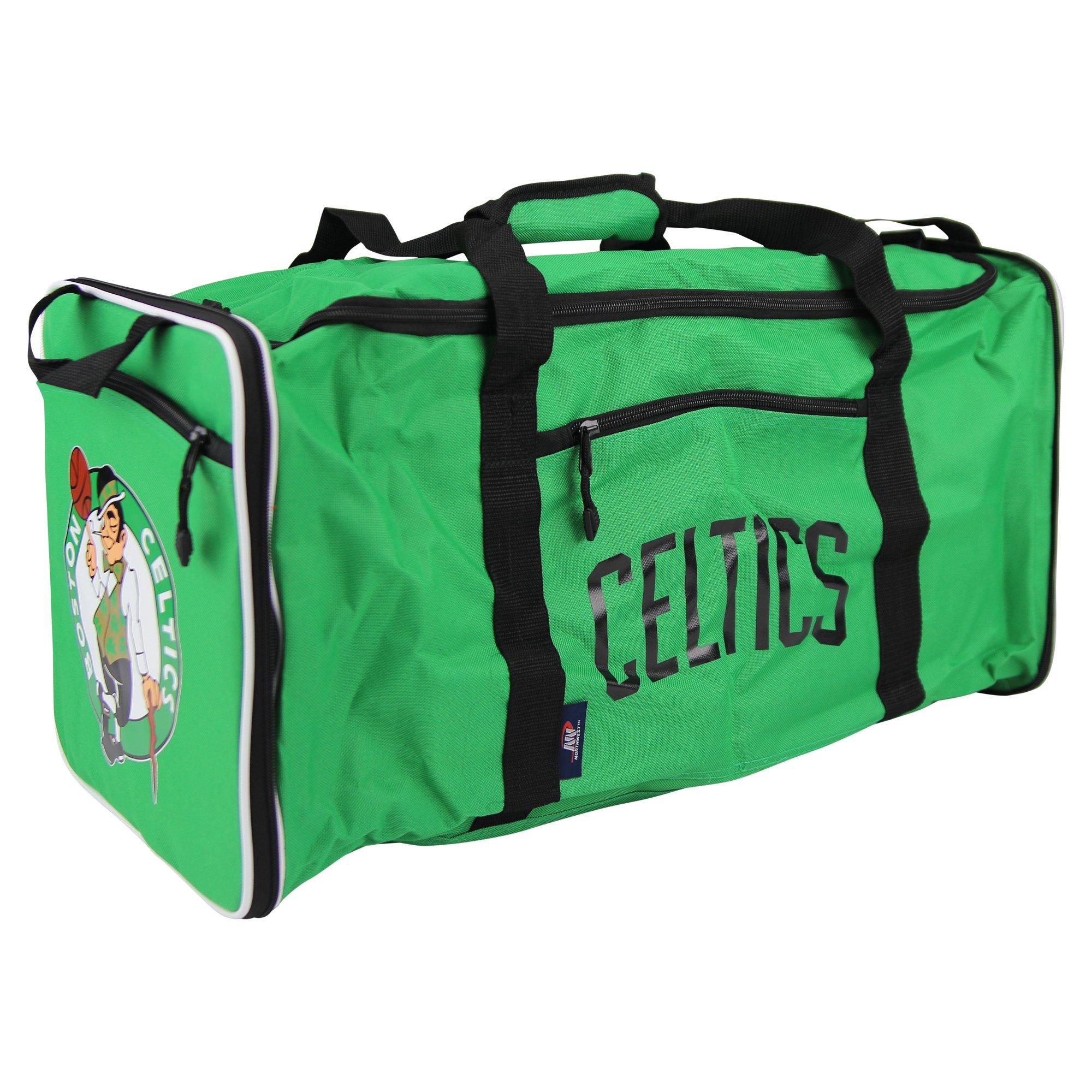 The Northwest Company NBA Team Logo Extended Duffle Bag (Boston Celtics)