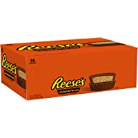 Reese's Peanut Butter Cups Chocolate Bulk Candy, 1.5 Oz Packages (Pack of 36)