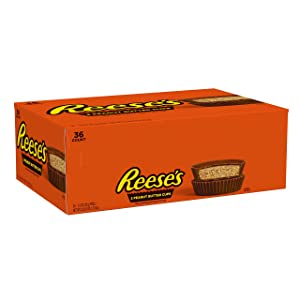 Reese's Peanut Butter Cups, Easter Chocolate candy, 1.5 Oz Packages (Pack of 36)