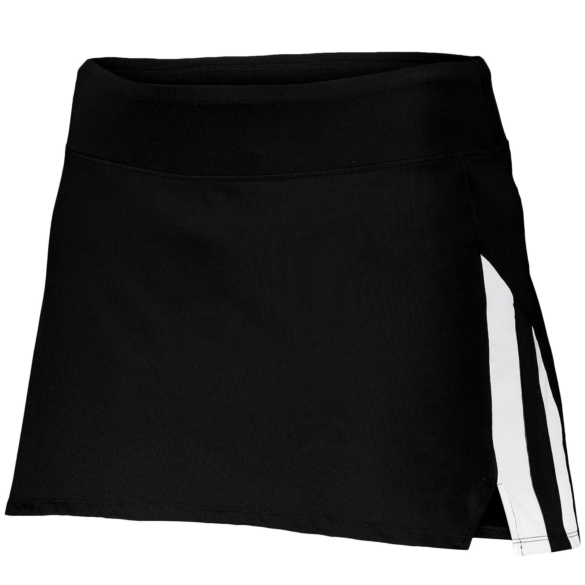 Augusta Sportswear Women's Full Force Skort S Black/White