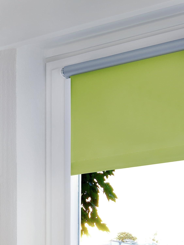 Longueur ajustable Auto-adh/ésif Plastique GARDINIA Profil lat/éral pour des stores enrouleurs Blanc 210 cm