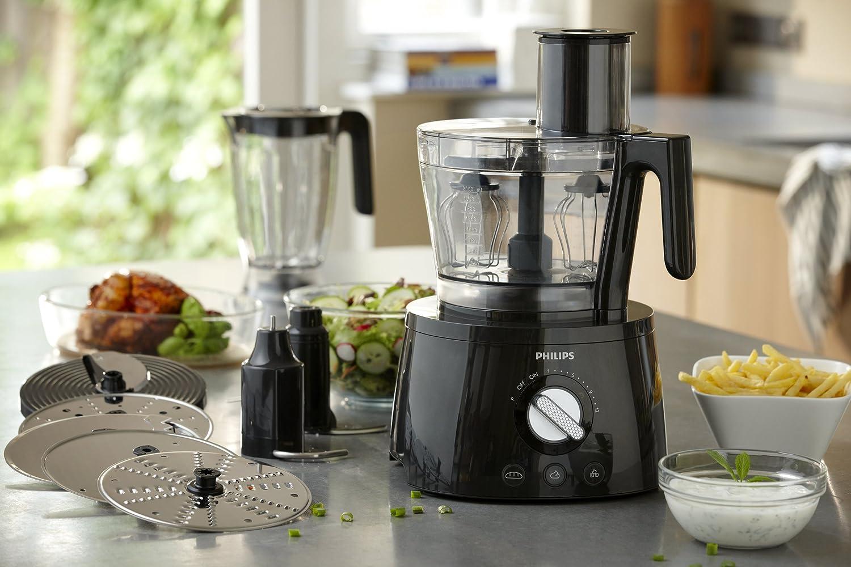 Philips HR7776/91 Avance - Robot de cocina con vaso extragrande (3,4 L, batidora 1,5 L, 1300W): Amazon.es: Hogar