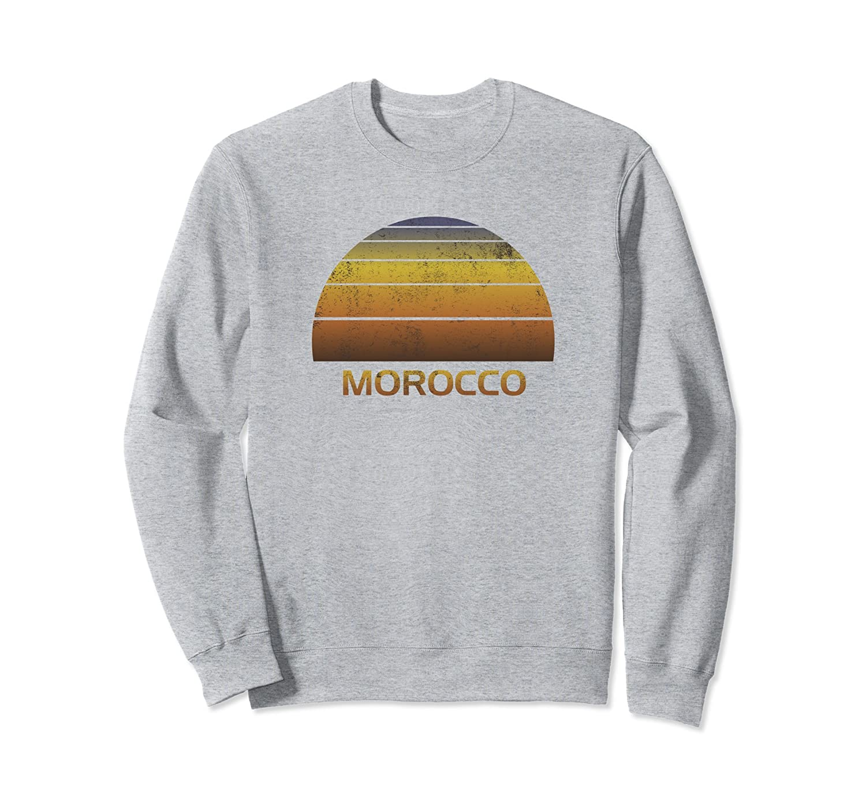 Morocco Souvenir Sweatshirt - Family Vacation Apparel-alottee gift