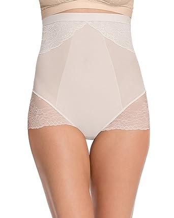 Spanx Damen Taillenslip Lace Collection High Waisted Brief: Amazon.de:  Bekleidung