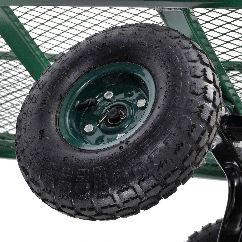 Sandusky Lee CW3418 Muscle Carts Steel Utility Garden Wagon, 400 lb. Load Capacity, 21-3/4'' Height x 34'' Length x 18'' Width by Sandusky (Image #7)