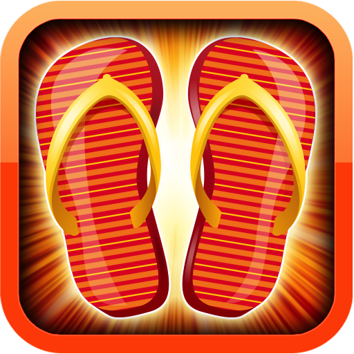 Stripe Sandals Vacations - Android On Glasses App Trying For