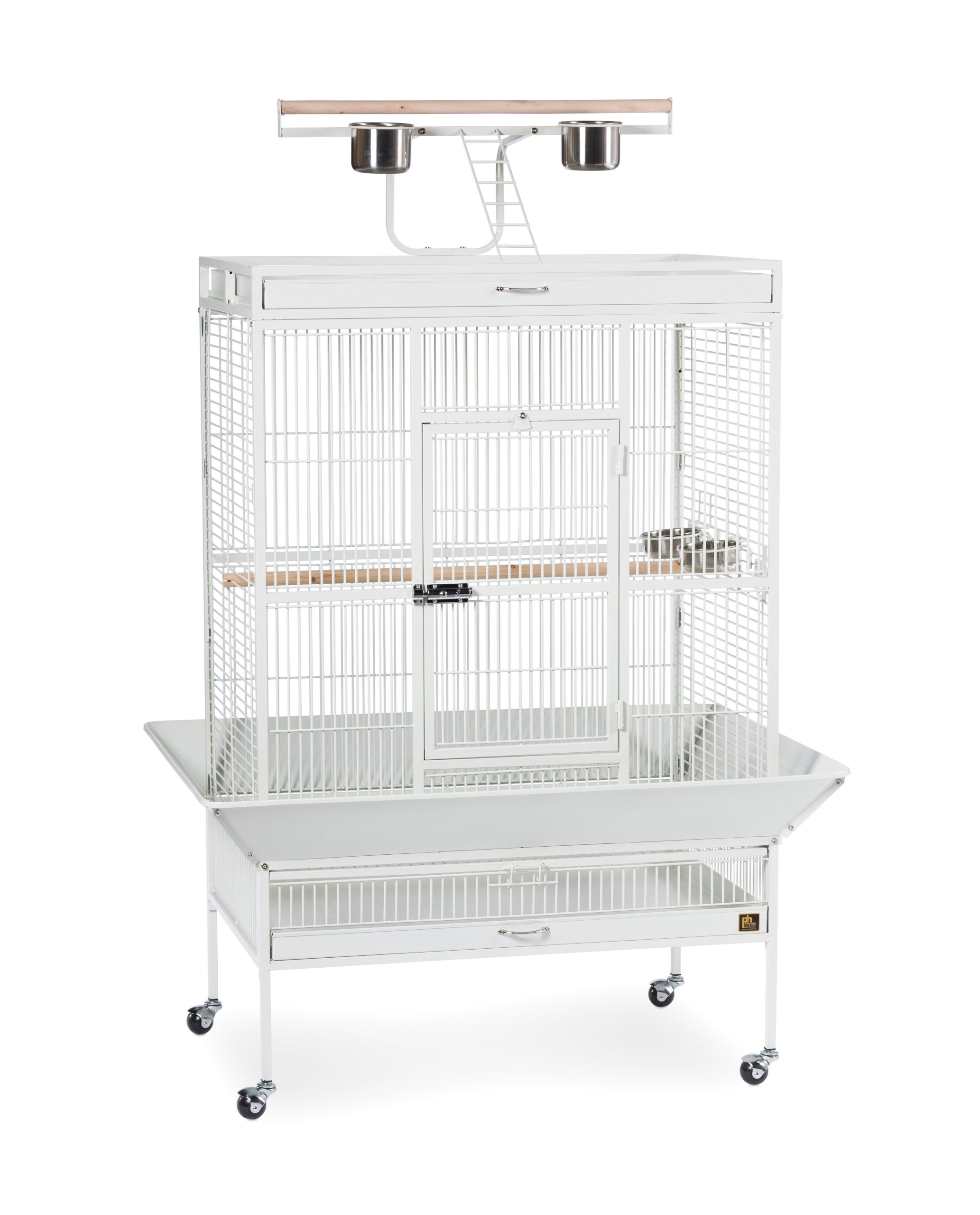 Prevue Pet Products Wrought Iron Select Bird Cage 3154C, Chalk White, 36-Inch by 24-Inch by 66-Inch by Prevue Hendryx